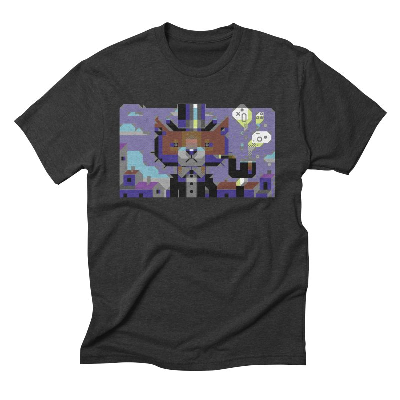 The Game Is Apaw Men's Triblend T-Shirt by AnimalBro's Artist Shop
