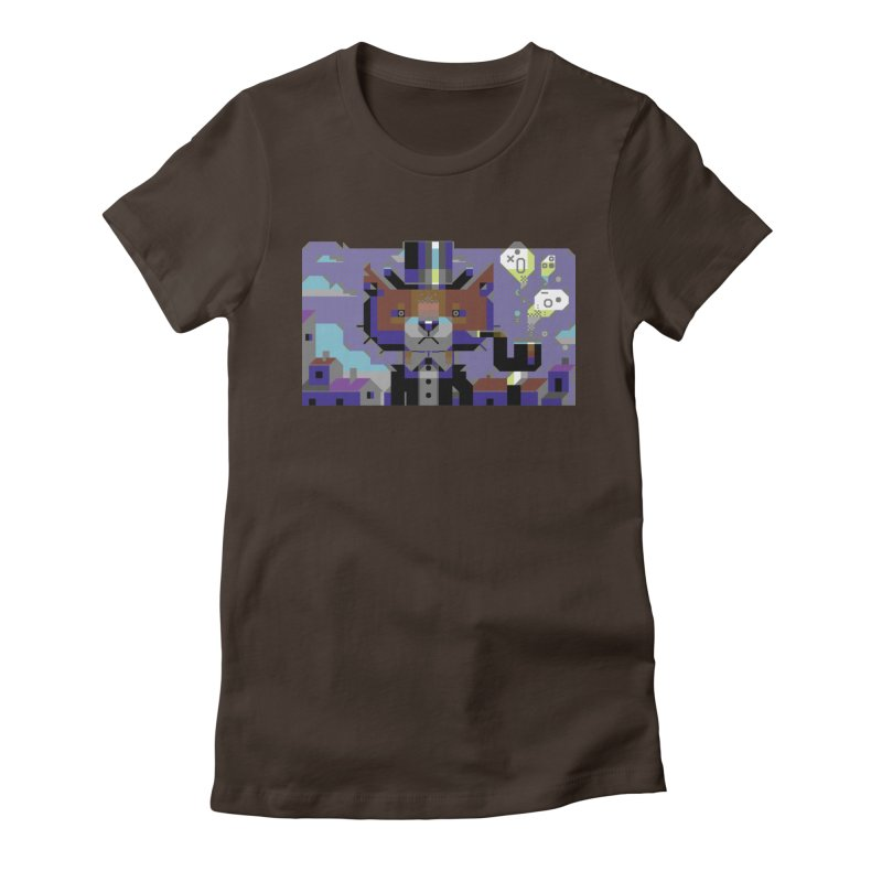 The Game Is Apaw Women's Fitted T-Shirt by AnimalBro's Artist Shop