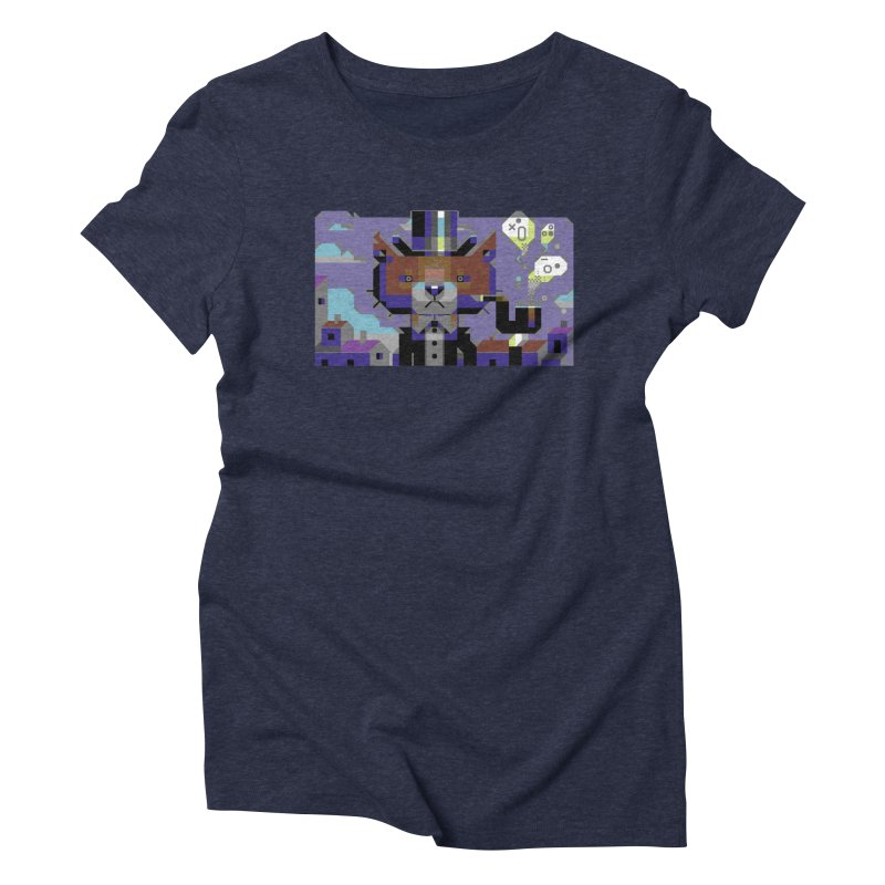 The Game Is Apaw Women's Triblend T-Shirt by AnimalBro's Artist Shop