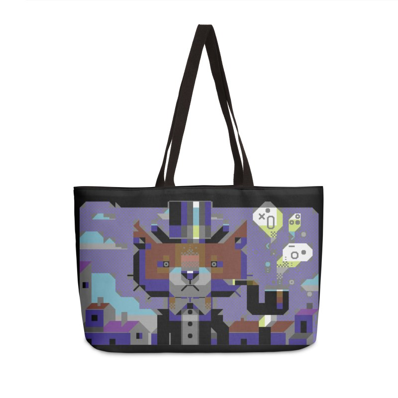 The Game Is Apaw Accessories Bag by AnimalBro's Artist Shop