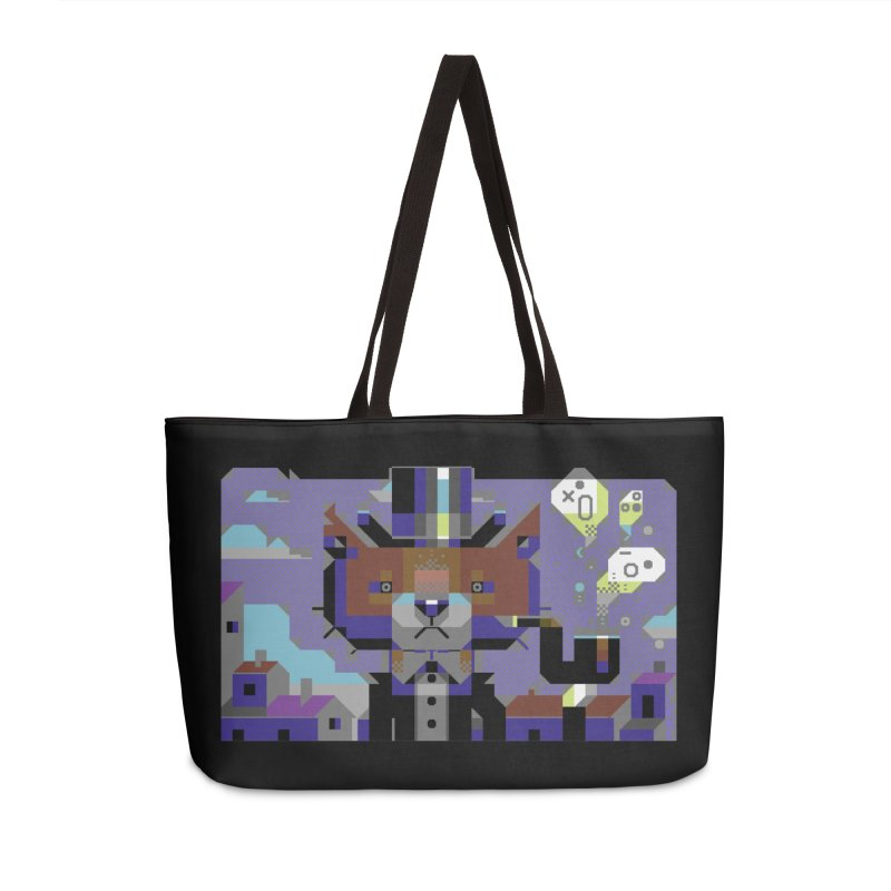 The Game Is Apaw in Weekender Bag by AnimalBro's Artist Shop