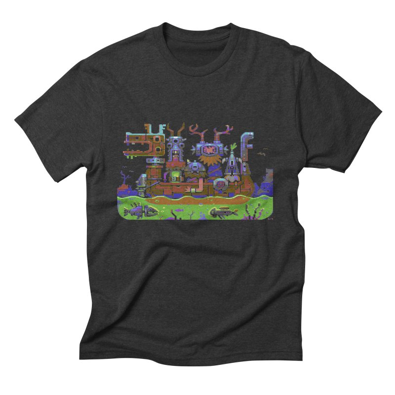 Technovikings Men's Triblend T-Shirt by AnimalBro's Artist Shop
