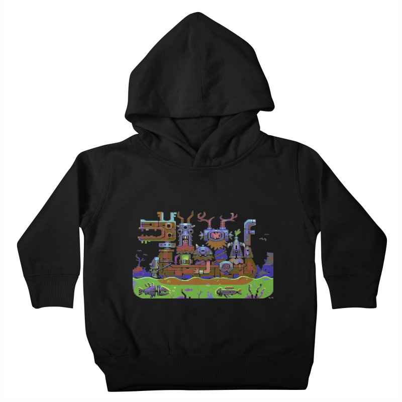 Technovikings Kids Toddler Pullover Hoody by AnimalBro's Artist Shop