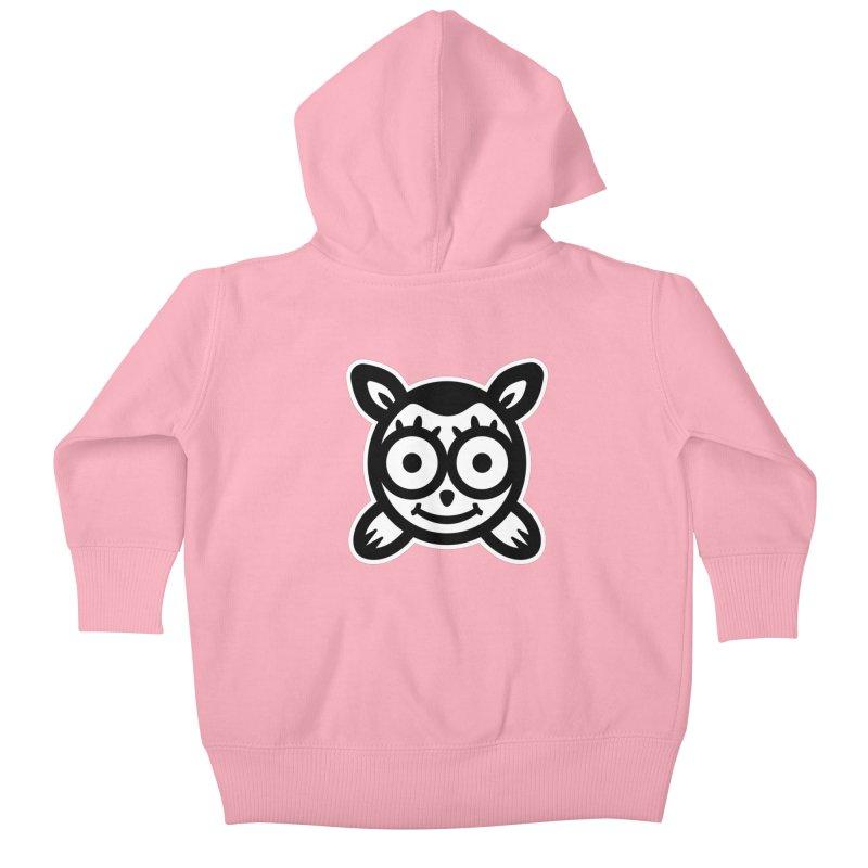 Animal Icon T-Shirt Kids Baby Zip-Up Hoody by Animal Monster Robot