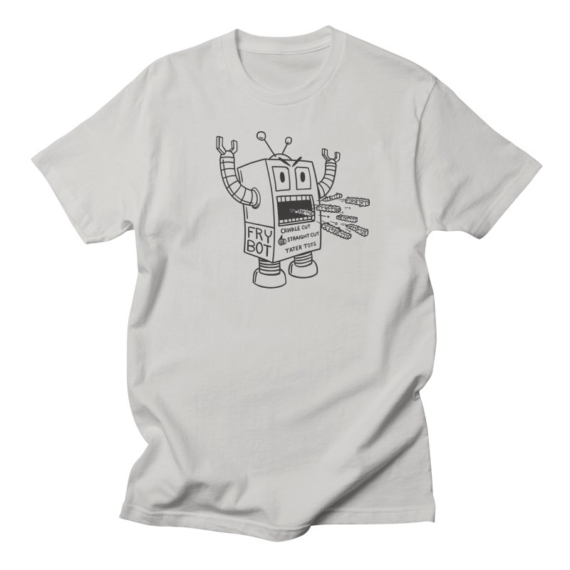 Fry Bot Women's T-Shirt by Animal Monster Robot