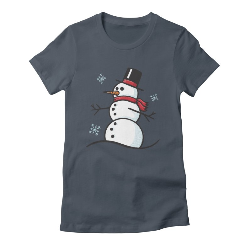 Chilly the Snowfriend Women's T-Shirt by Animal Monster Robot