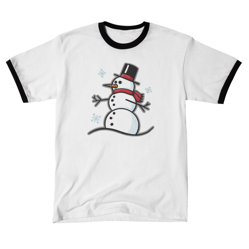 Chilly the Snowfriend - for black shirts Men's T-Shirt by Animal Monster Robot