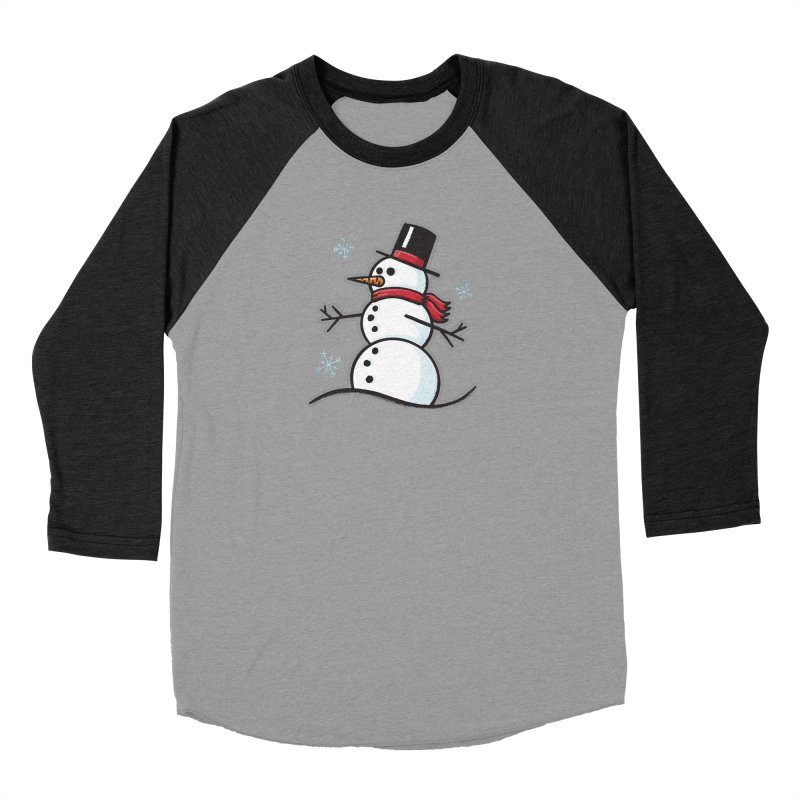 Chilly the Snowfriend - for black shirts Men's Longsleeve T-Shirt by Animal Monster Robot