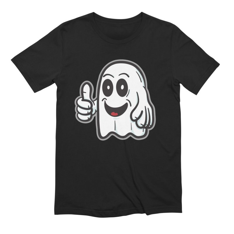 Right On, Ghost - for black shirts Men's T-Shirt by Animal Monster Robot