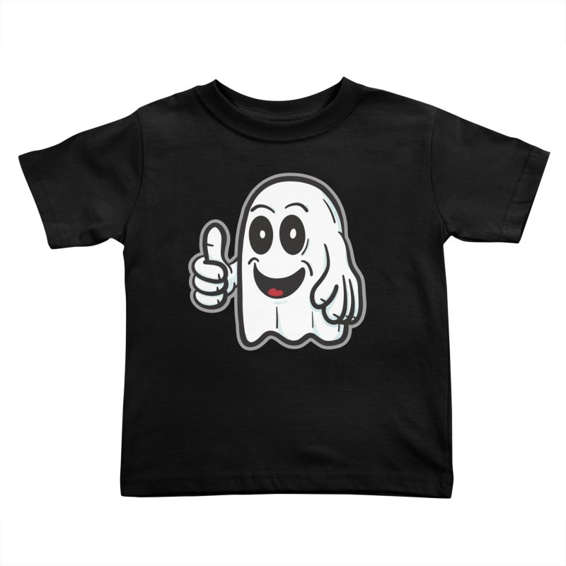 Right On, Ghost - for black shirts Kids Toddler T-Shirt by Animal Monster Robot