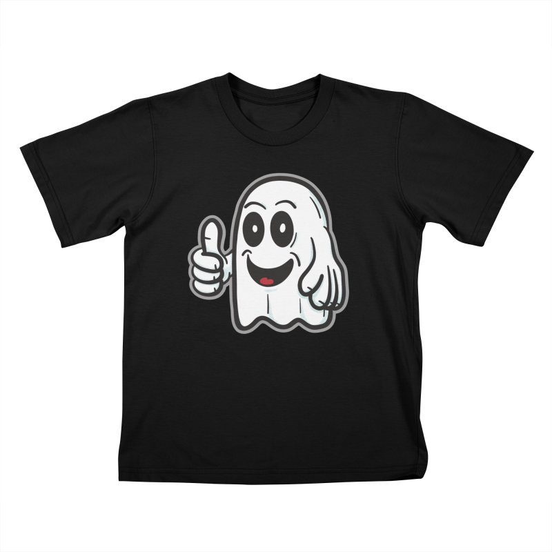 Right On, Ghost - for black shirts Kids T-Shirt by Animal Monster Robot