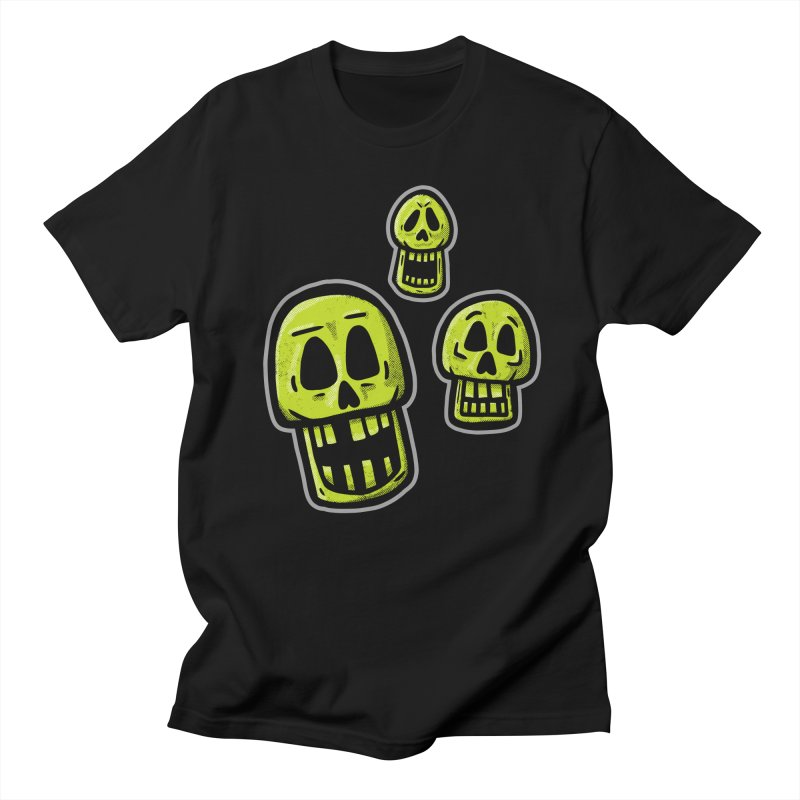 Laughing Skulls - for black shirts Women's T-Shirt by Animal Monster Robot