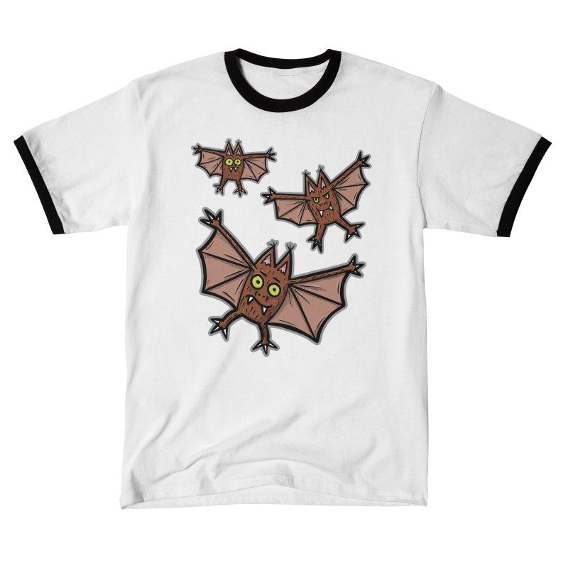 BATS!!! - for black shirts Men's T-Shirt by Animal Monster Robot