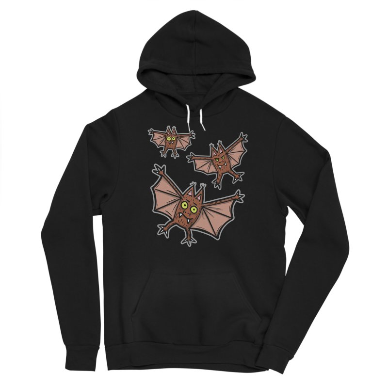 BATS!!! - for black shirts Men's Pullover Hoody by Animal Monster Robot