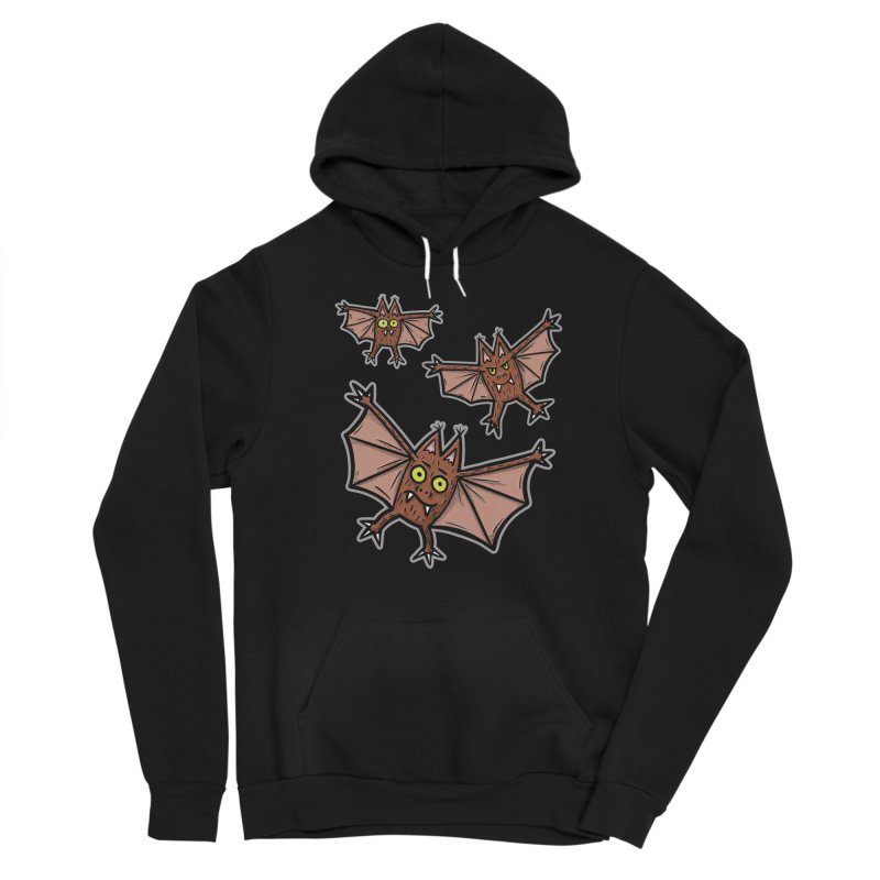 BATS!!! - for black shirts Women's Pullover Hoody by Animal Monster Robot