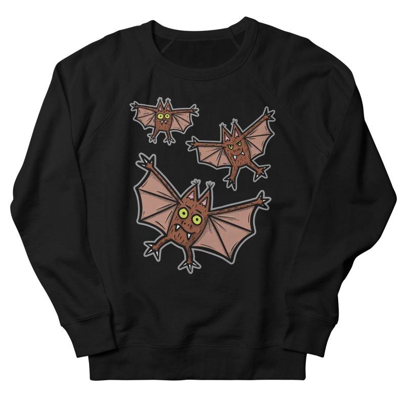 BATS!!! - for black shirts Men's Sweatshirt by Animal Monster Robot