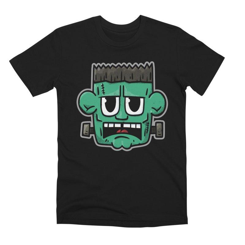 Frank's Monster - for black shirts Men's T-Shirt by Animal Monster Robot