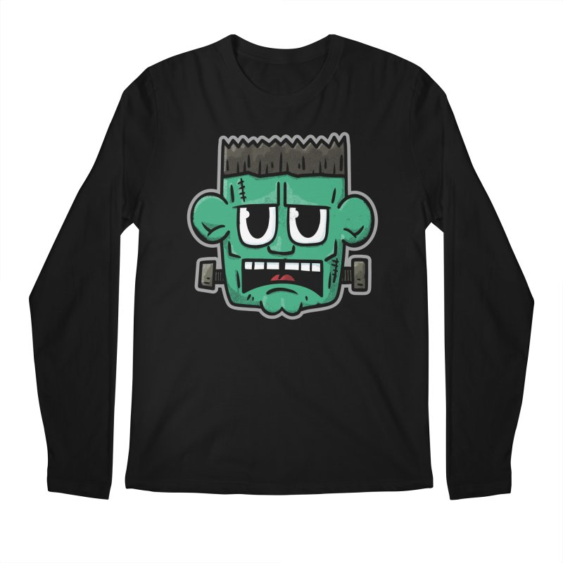 Frank's Monster - for black shirts Men's Longsleeve T-Shirt by Animal Monster Robot