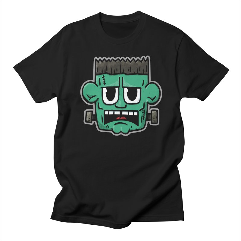 Frank's Monster - for black shirts Men's T-Shirt by Animal Monster Robot