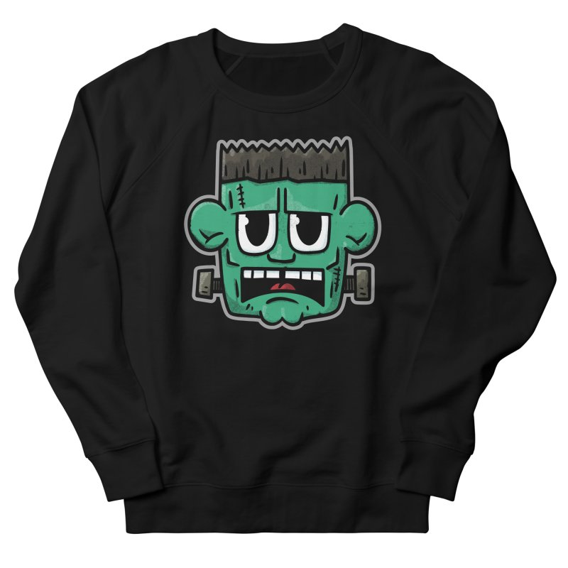 Frank's Monster - for black shirts Men's Sweatshirt by Animal Monster Robot
