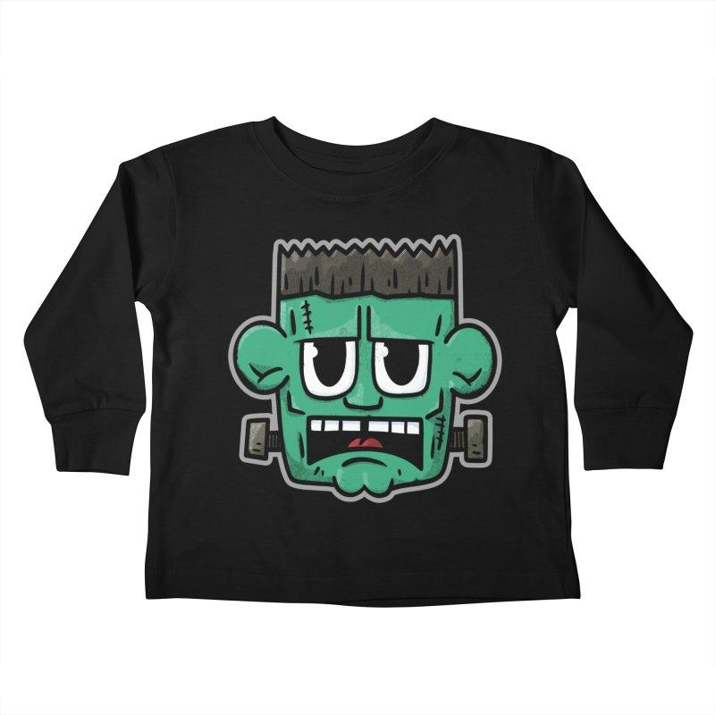 Frank's Monster - for black shirts Kids Toddler Longsleeve T-Shirt by Animal Monster Robot