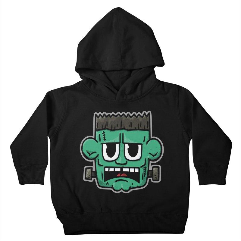 Frank's Monster - for black shirts Kids Toddler Pullover Hoody by Animal Monster Robot