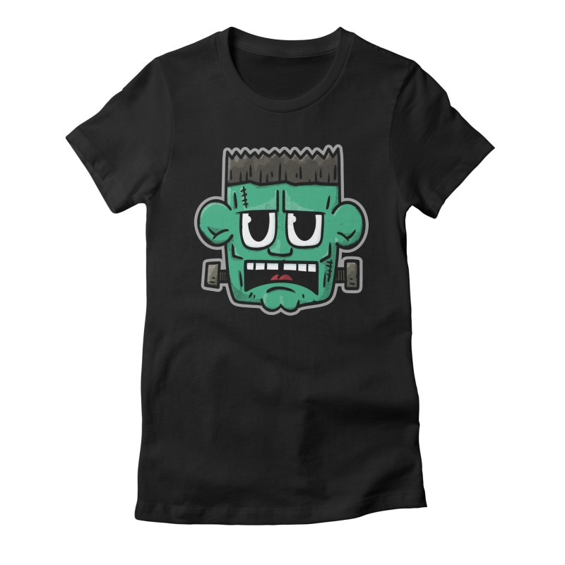 Frank's Monster - for black shirts Women's T-Shirt by Animal Monster Robot