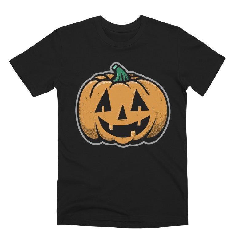 Jack-O-Lantern - for black shirts Men's T-Shirt by Animal Monster Robot