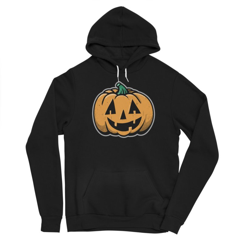 Jack-O-Lantern - for black shirts Women's Pullover Hoody by Animal Monster Robot