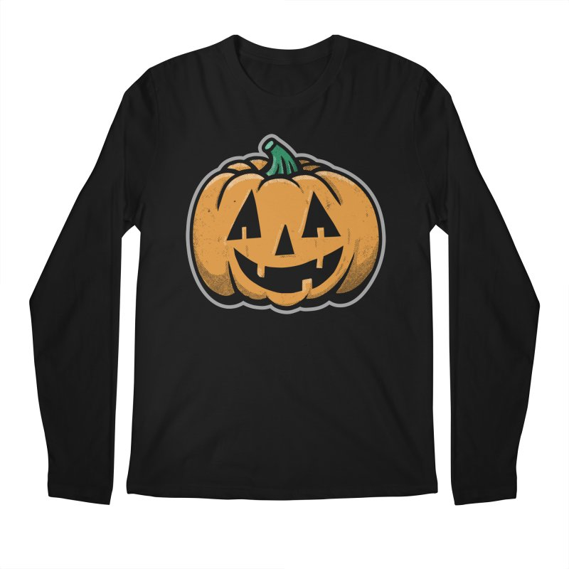 Jack-O-Lantern - for black shirts Men's Longsleeve T-Shirt by Animal Monster Robot