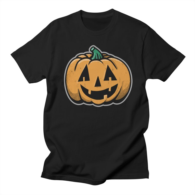 Jack-O-Lantern - for black shirts Men's T-Shirt by Animal Monster Robot