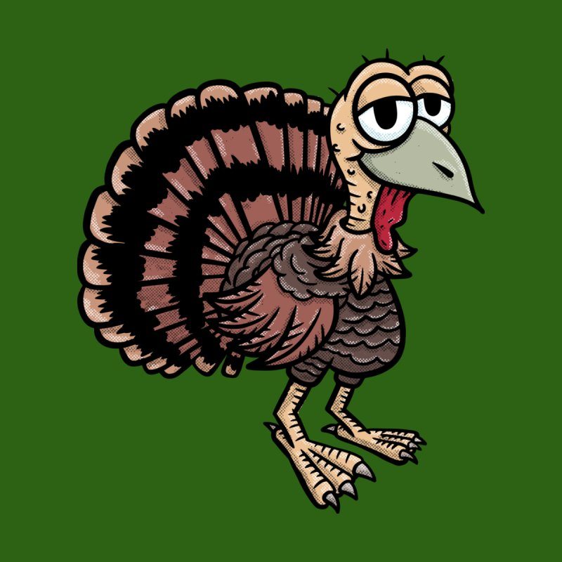 Happy Little Turkey Men's V-Neck by Animal Monster Robot