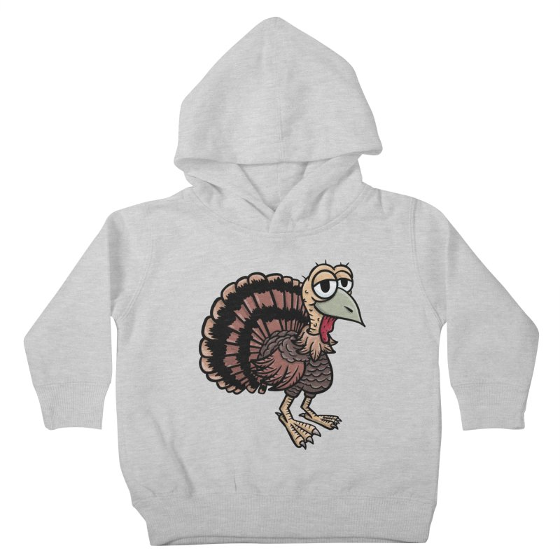 Happy Little Turkey Kids Toddler Pullover Hoody by Animal Monster Robot