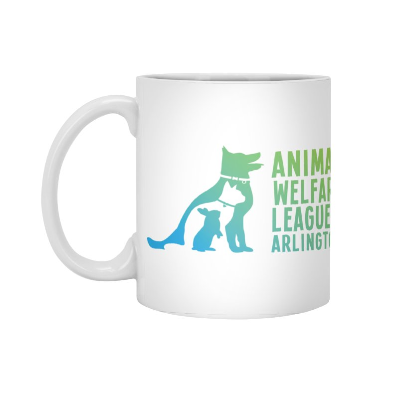 AWLA Logo - available in various styles & colors Accessories Standard Mug by Animal Welfare League of Arlington Shop