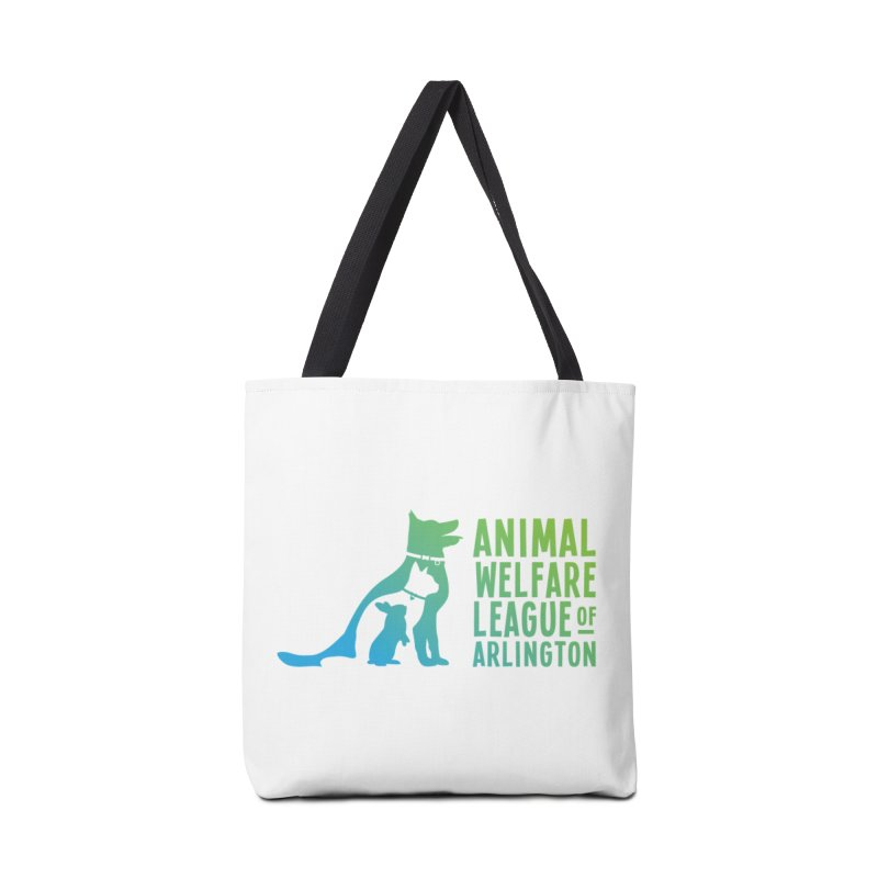 AWLA Logo - available in various styles & colors in Tote Bag by Animal Welfare League of Arlington Shop