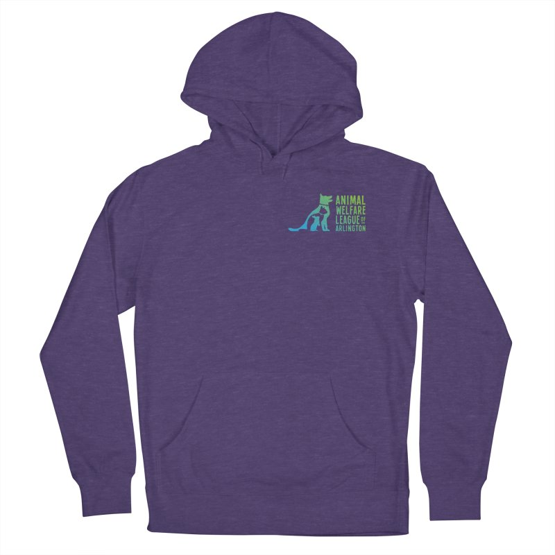 AWLA Logo - available in various styles & colors Women's French Terry Pullover Hoody by Animal Welfare League of Arlington Shop