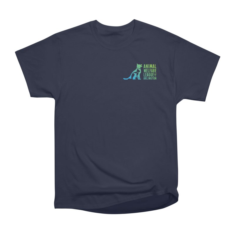 AWLA Logo - available in various styles & colors Men's Heavyweight T-Shirt by Animal Welfare League of Arlington Shop