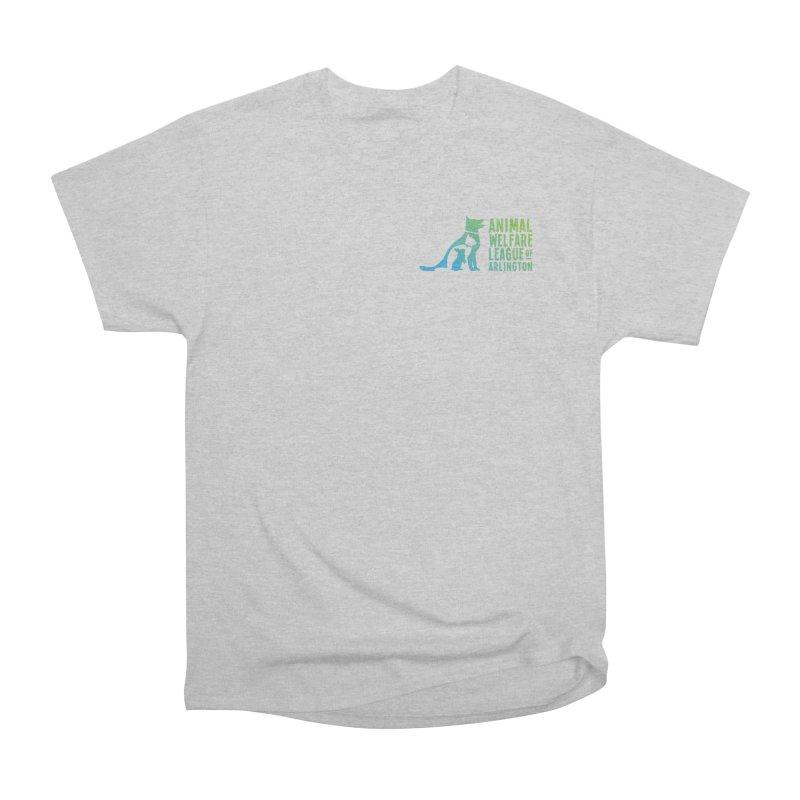 AWLA Logo - available in various styles & colors Women's Heavyweight Unisex T-Shirt by Animal Welfare League of Arlington Shop