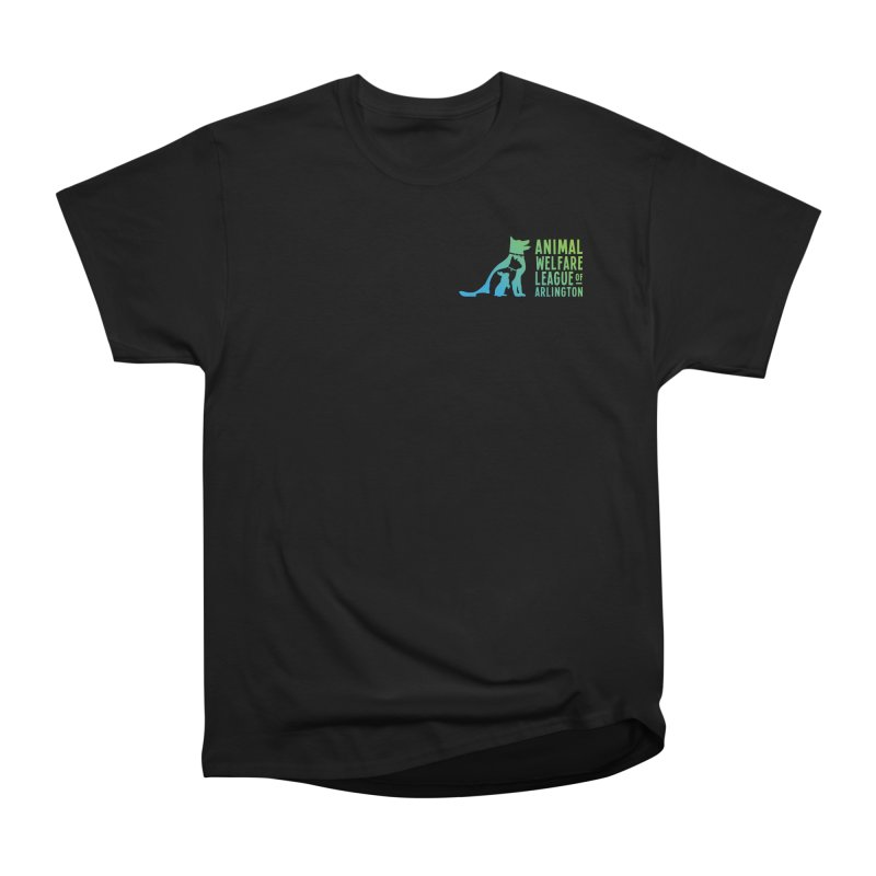AWLA Logo - available in various styles & colors Women's Heavyweight Unisex T-Shirt by Animal Welfare League of Arlington Shop