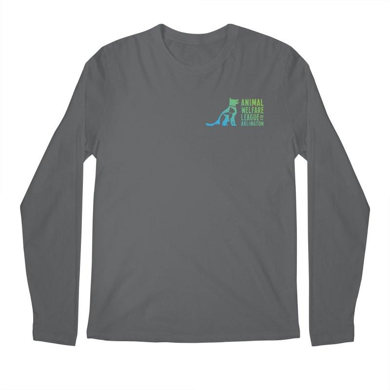 AWLA Logo - available in various styles & colors Men's Longsleeve T-Shirt by Animal Welfare League of Arlington Shop