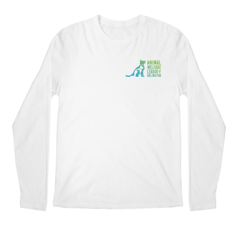 AWLA Logo - available in various styles & colors Men's Regular Longsleeve T-Shirt by Animal Welfare League of Arlington Shop