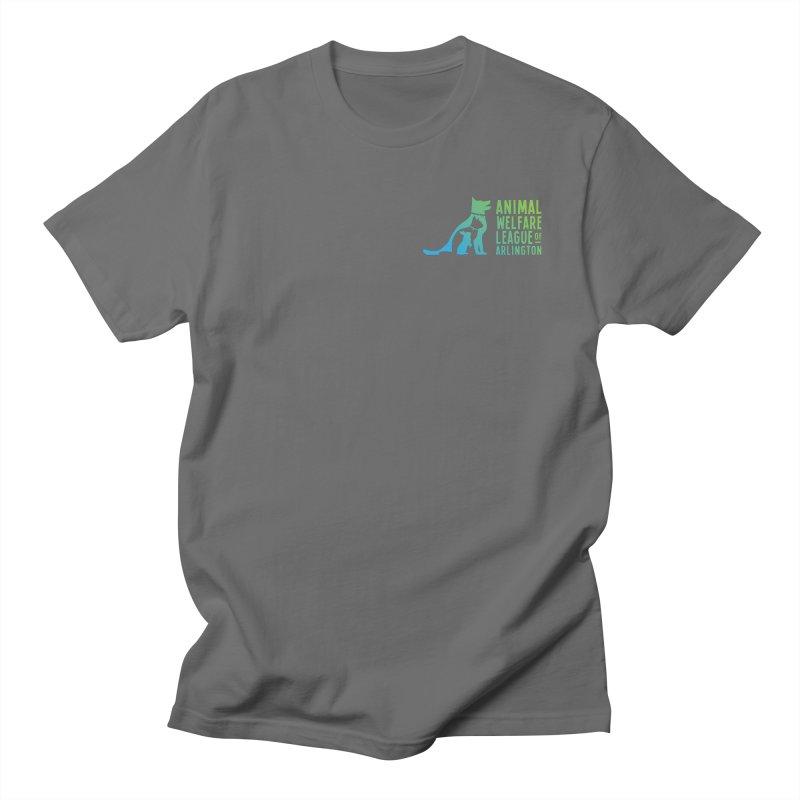 AWLA Logo - available in various styles & colors Men's Regular T-Shirt by Animal Welfare League of Arlington Shop