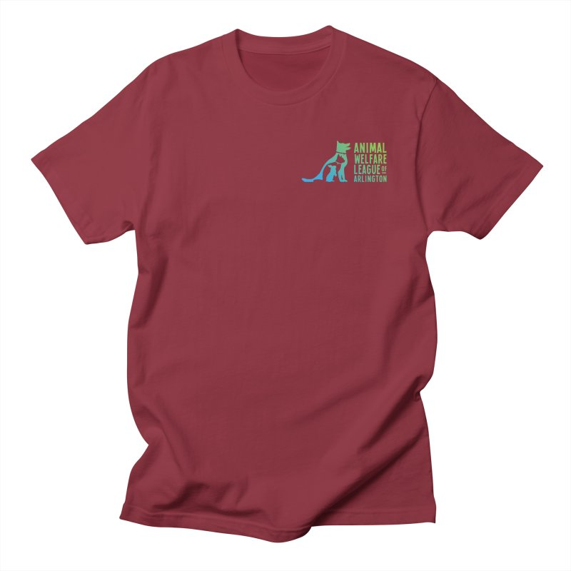 AWLA Logo - available in various styles & colors Women's Regular Unisex T-Shirt by Animal Welfare League of Arlington Shop