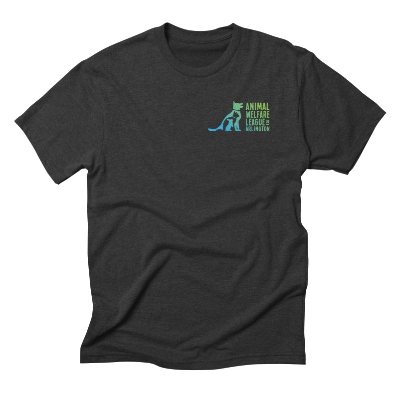 AWLA Logo - available in various styles & colors Men's Triblend T-Shirt by Animal Welfare League of Arlington Shop