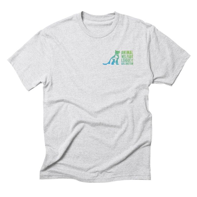 AWLA Logo - available in various styles & colors Men's T-Shirt by Animal Welfare League of Arlington Shop