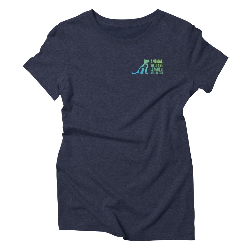 AWLA Logo - available in various styles & colors Women's Triblend T-Shirt by Animal Welfare League of Arlington Shop