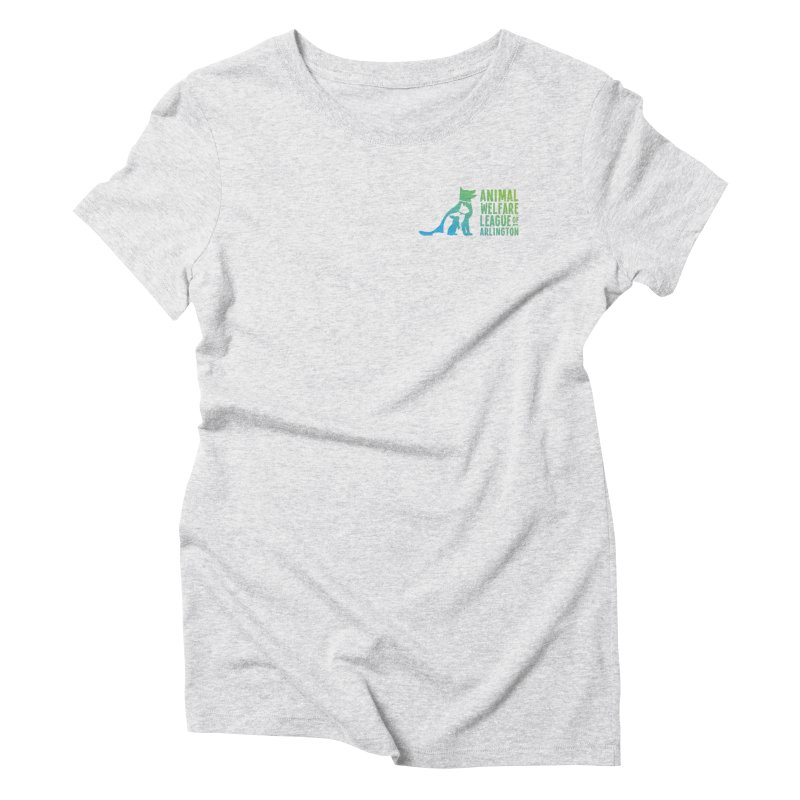 AWLA Logo - available in various styles & colors Women's T-Shirt by Animal Welfare League of Arlington Shop