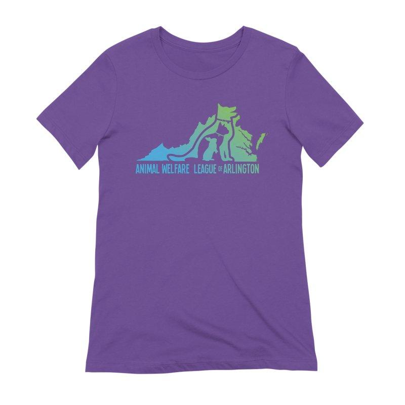 AWLA Virginia State - COLOR Women's Extra Soft T-Shirt by Animal Welfare League of Arlington Shop