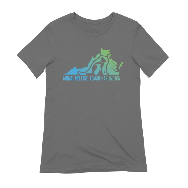 AWLA Virginia State - COLOR Women's Extra Soft T-Shirt by Animal Welfare League of Arlington Shop