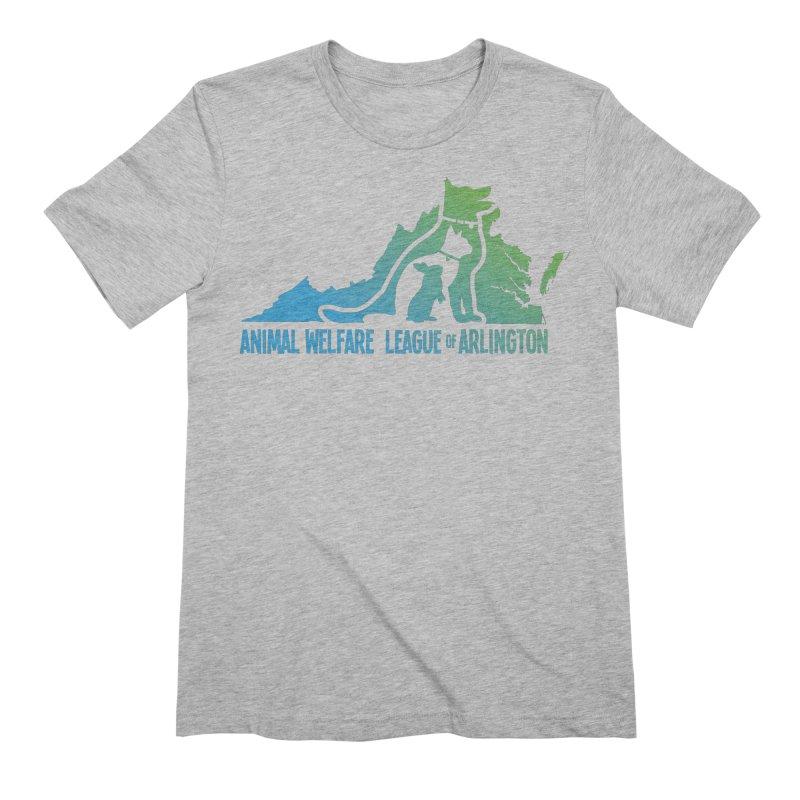 AWLA Virginia State - COLOR Men's Extra Soft T-Shirt by Animal Welfare League of Arlington Shop